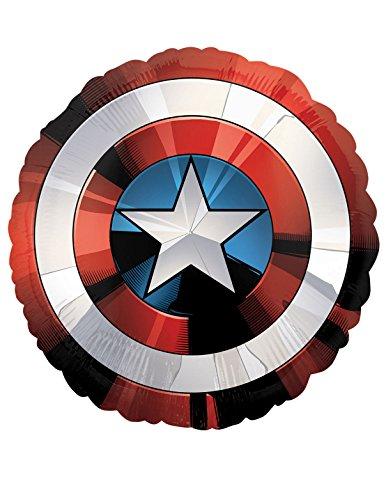 Amscan International 3484101Avengers Shield Folie Ballon