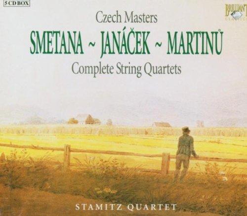Preisvergleich Produktbild Czech Masters: Complete String Quartes