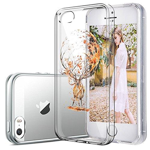 iPhone 5 Custodia Marmo TPU Gel Silicone Protettivo Skin Custodia Protettiva Shell Case Cover Per Apple iPhone 5s (6) 8