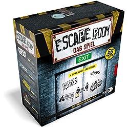 Noris Spiele 606101546–Escape Room Incluye 4Casos y Chrono incorporados