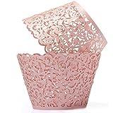 Leisial™ 50 Stücke Weihnachten Child Birthday Cupcake Wrappers Hochzeit Cupcake