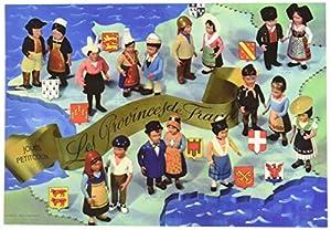 "Petitcollin 10,5 x 15 cm""Les Provincias De France"" Postal"