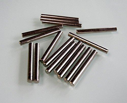 Bodenträger aus Stahl Länge 45 mm für Bohrung 5mm, 12 Stück