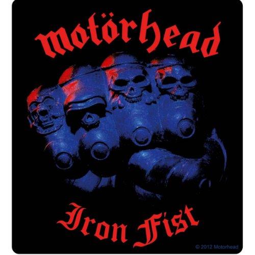 Iron Shirt Aufkleber (Motörhead – Iron Fist Sticker Aufkleber)