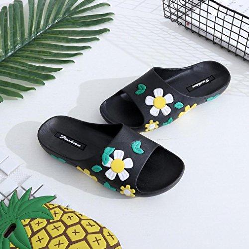 Verão Sapatos Brancas Praia Flor Borracha Chinelos De Hunpta Tamancos Do Chinelo Mulheres Flats Estilo wgFOwqRZ