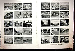 Impression 1934 de Français de Photo de Marbre de Film d'Aviation de Versailles