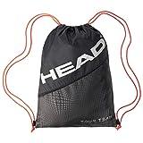 HEAD Unisex- Erwachsene Tour Team Shoe Sack Tennistasche, Black/Silver, Andere