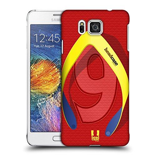 Head Case Designs Sportlich Flip Flops Ruckseite Hülle für Samsung Galaxy Alpha (Alpha Flip-flops)