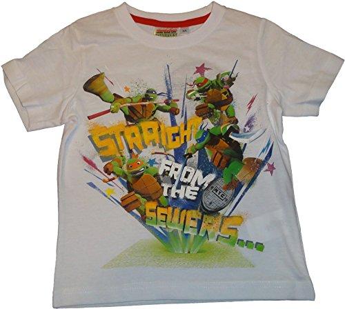 Nickelodeon Teenage Mutant Ninja Turtles T-Shirts in Weiss in Gr. 98