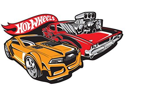 Hot Wheels Baby Kids 267557 Mattel Adhesivo Decorativo para Pared (30 x 25 cm)