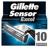 Gillette Lames de Rasoir pour Homme  Sensor Excel, x 10