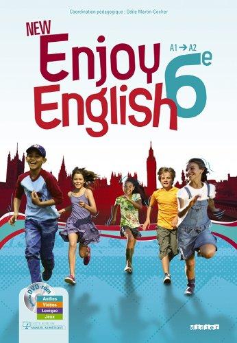 New Enjoy English 6e - Manuel + DVD-rom por Sophie Plays