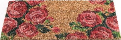 Gardman 82488 Easy Change - Felpudo, diseño de rosas