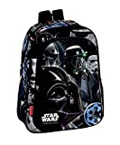 Montichelvo Star Wars Rogue One Mochila Infantil, 36 cm, Negro, 30 x 24 x 10 cm