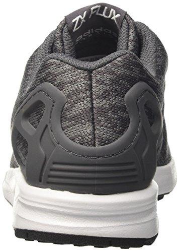 Scarpa Da Running Adidas Uomo Zx Flux Multicolor (grigio Cinque F17 / Ftwr Bianco / Nucleo Nero)
