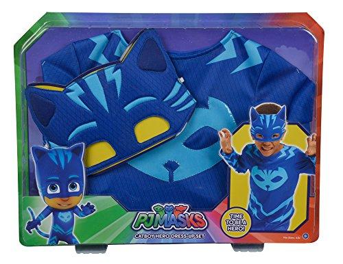 Simba 109402093 - PJ Masks - Kostüm Catboy, 104-122 (Catboy Pj Masken Kostüm)