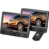 AEG DVD 4552 LCD Tragbarer DVD-Player (22,86 cm (9 Zoll) Display, DVD+RW, SD-Kartenslot) schwarz