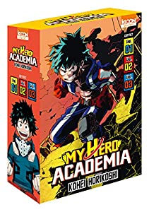My Hero Academia Coffret starter (2018) Tomes 1 à 3