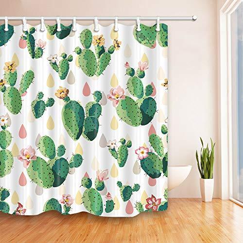caichaxin Stachelige Kaktusblüte Wunderschöne wasserdichte und strapazierfähige Umgebung