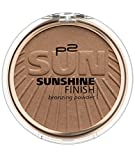p2 cosmetics Sunshine Finish Bronzing Powder 040, 3er Pack (3 x 8 g)