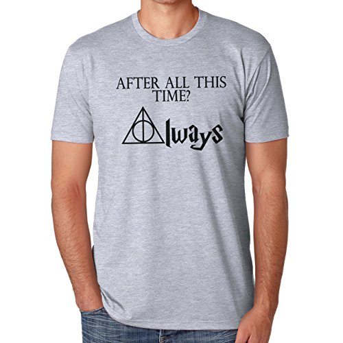 After All This Time Always Harry Potter Herren T-Shirt Grau