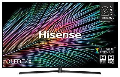 """Hisense H55O8BBUK 55"""" OLED 4K UHD HDR Smart TV (2019/20 series)"""