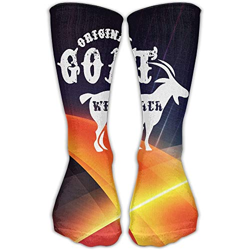 Eybfrre Original Goat Whisperer Best High Performance Athletic Running Casual Socks for Men & Women -