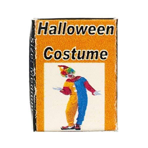 Melody Jane Puppenhaus Clown Kostüm Kiste Halloween Prty Kostüm ()