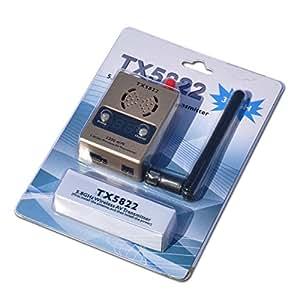 FPV System - TX5822 5.8GHz 2200mW 32-Channel Wireless AV Transmitter with Antenna
