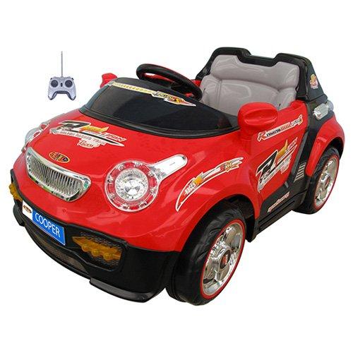 Mario Schiano - Auto Cooper Elettrica Colore Rosso/Nero - Schiano