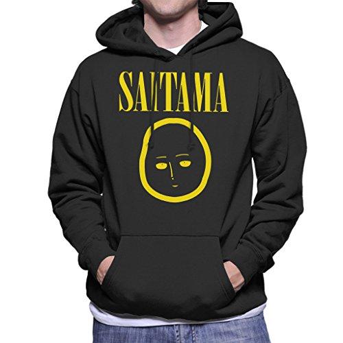 One Punch Man Saitama Nirvana Logo Men's Hooded Sweatshirt