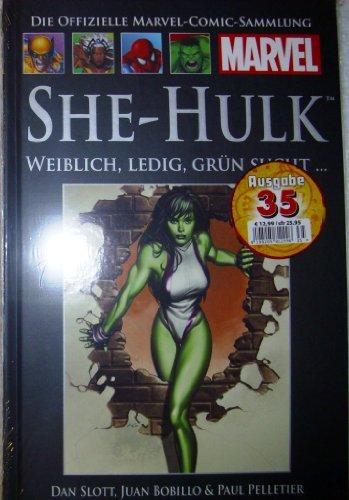 Die offizielle Marvel-Comic-Sammlung 37: SHE-Hulk - Weiblich, Ledig, Grün (Comic Weibliche Superhelden)