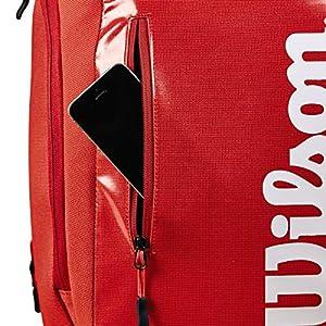 51%2BQ7KuiaVL. SS300  - Wilson Mochila Super Tour Backpack Infrared