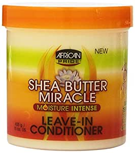 African Pride Shea Butter Moisture Intense Miracle Leave in Conditioner 425 g