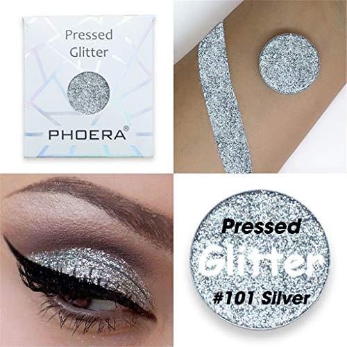 Dtuta Bezaubernde Serie Mit GroßEn Augen Aus Metall Beauty Eye Shadows Palette Deluxe Make-Up...