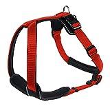 Hunter Hundegeschirr Neopren, Größe L, rot/schwarz