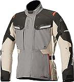 Alpinestars Motorradjacken Atem V3 Leather Jacket Black White, Schwarz/Weiss, 50