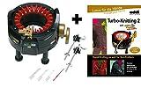 Addi Express Strickmaschine und Musterbuch Turbo Stricken 2
