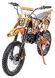 Kinder Jugend Crossbike Enduro Motocrossbike 125cc 4Takt Motocross Motorrad...