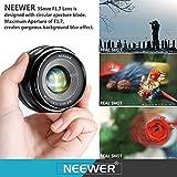 Neewer® NW-E-35-1,7 35mm f / 1.7 - 4