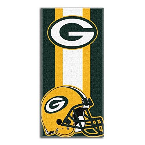 Northwest NFL Zone Lesen Strand Handtuch, 30von 152,4cm, grün