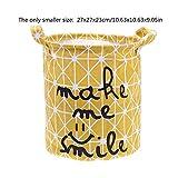 ZXXFR Klappbarer Wäschekorb Ablagekorb Barrel Für Kinder Ständigen Spielzeug Kleidung Lagerung Schaufel Wäscheservice Organizer Halter Tasche,22