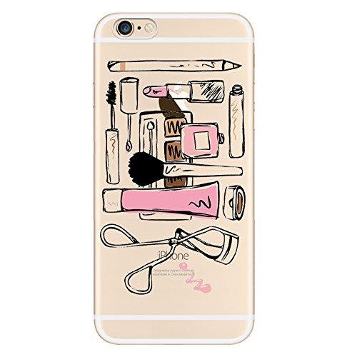 IPHONE 5C Hülle Karikatur Giraffe Einhorn Silikon TPU Schutzhülle Ultradünnen Case Schutz Hülle für iPhone 5C YM37
