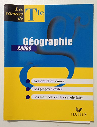 GEOGRAPHIE TERMINALE COURS