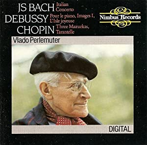 Bach/Debussy/Chopin:Piano Works