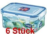 Lock & Lock Frischhaltedosen Set 6-teilig HPL 811