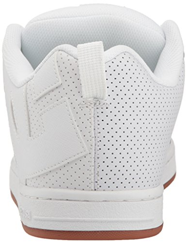 DC Shoes Court Graffik, Chaussures de skate homme White/White/Gum