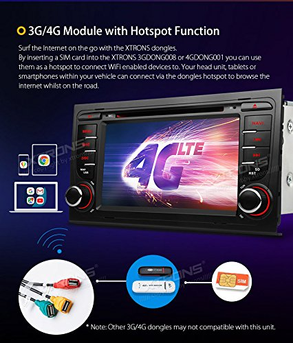 XTRONS 7 Inch Android 8 0 Octa Core 4G RAM 32G ROM Car Stereo HD Digital  Multi-touch Screen DVD Player OBD2 DVR Tire Pressure Monitoring TPMS Wifi  for
