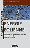 Telecharger Livres Energie eolienne evaluez le gisement eolien sur votre site Collection Savoir Faire t 1 (PDF,EPUB,MOBI) gratuits en Francaise