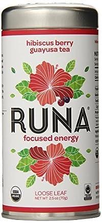 RUNA Amazon Guayusa Tea, Hibiscus Berry, 2.5 Ounce